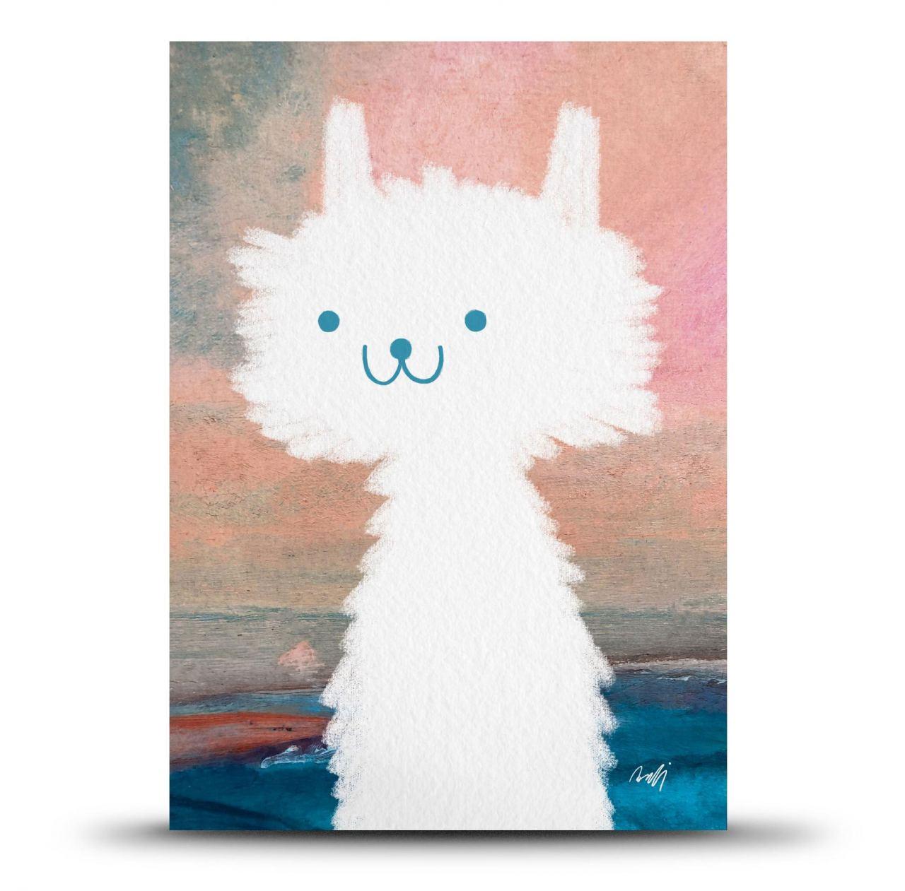 Mirabelle Print Card (A5)