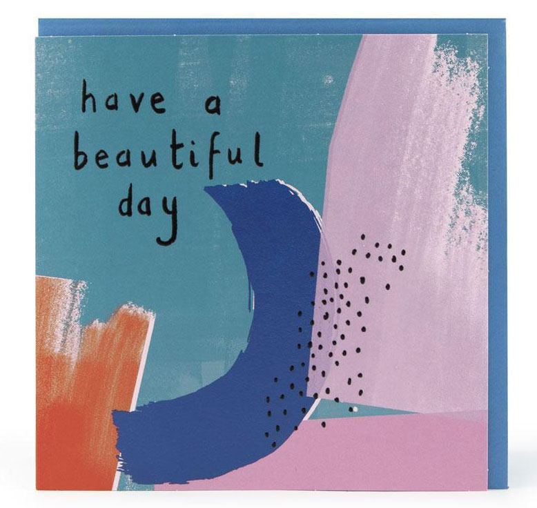 Have a beautiful day Karte