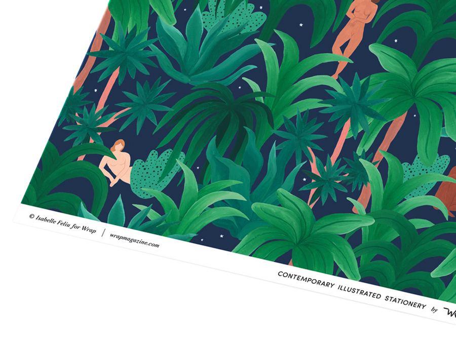 Night Jungle Geschenkpapier