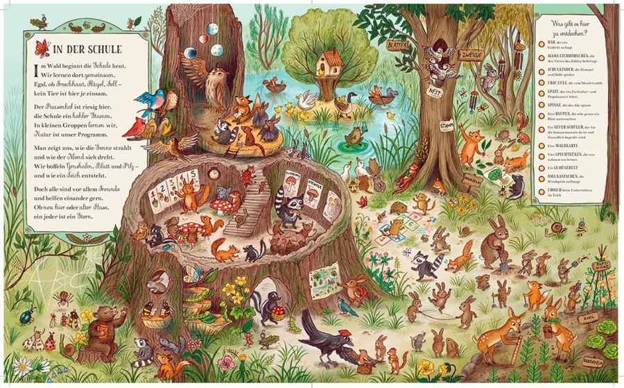 Wer wohnt denn da im tiefen Wald?