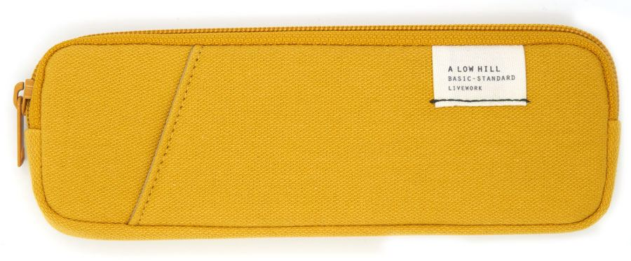 Low Hill Pocket Pencilcase V3 Mustard