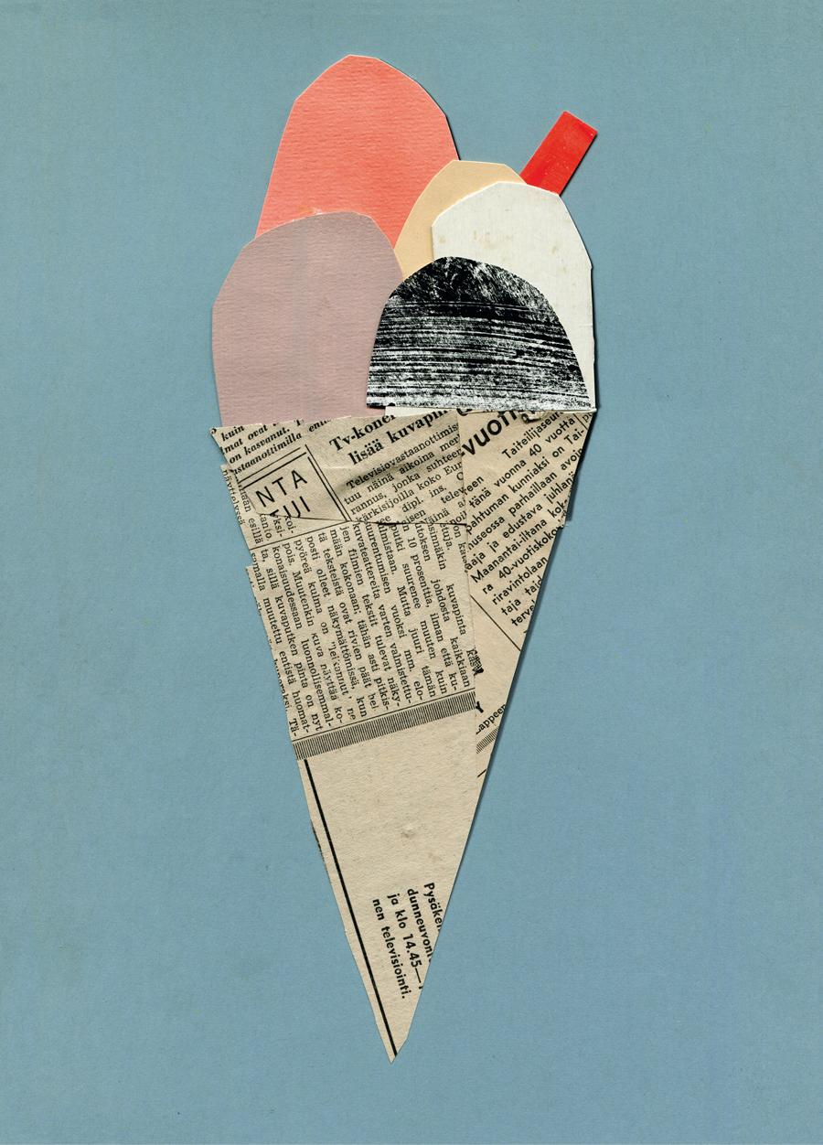 Eis #2 Print (DINA3)