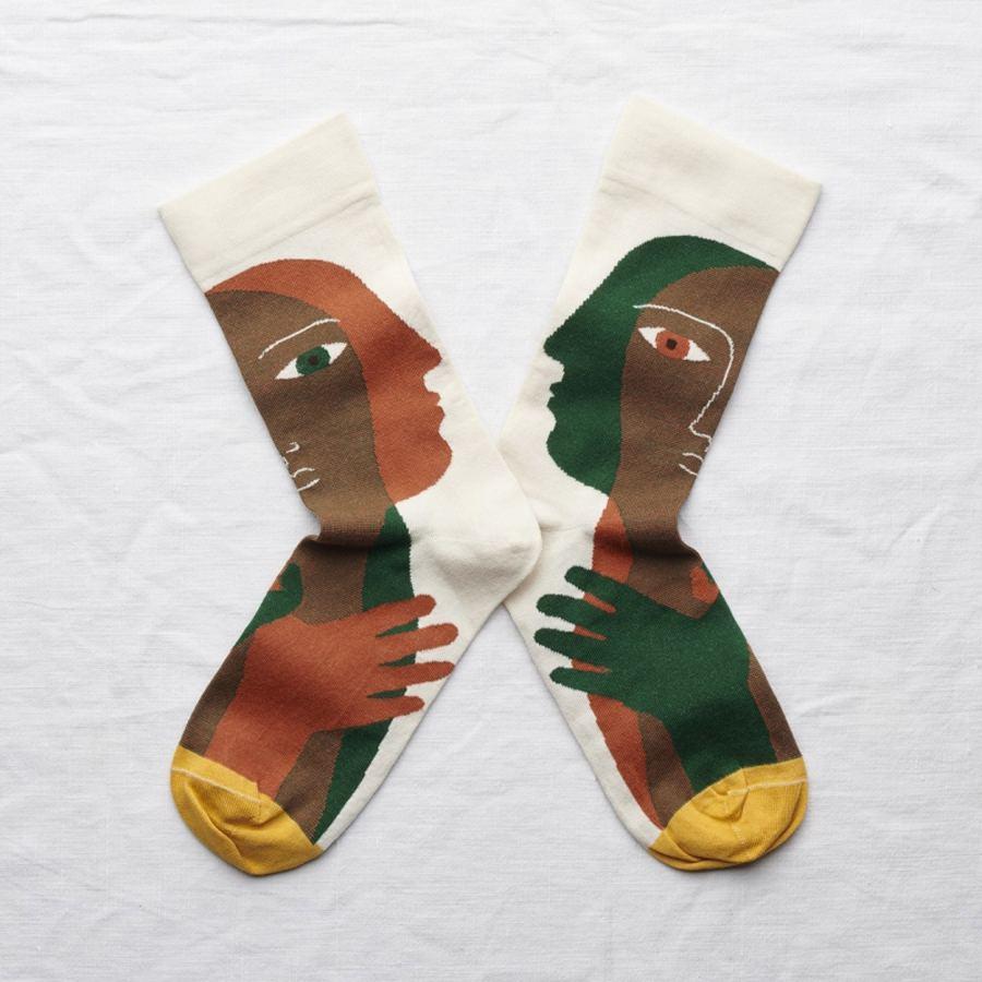 Socks Natural Head