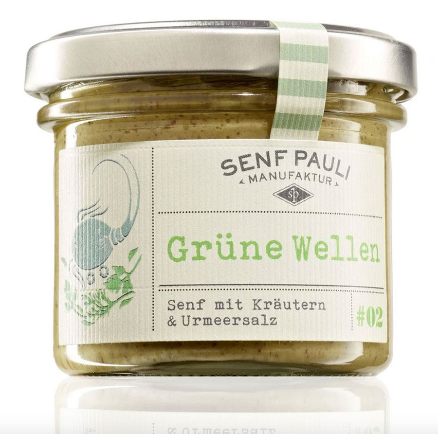 Senf Pauli - Grüne Wellen