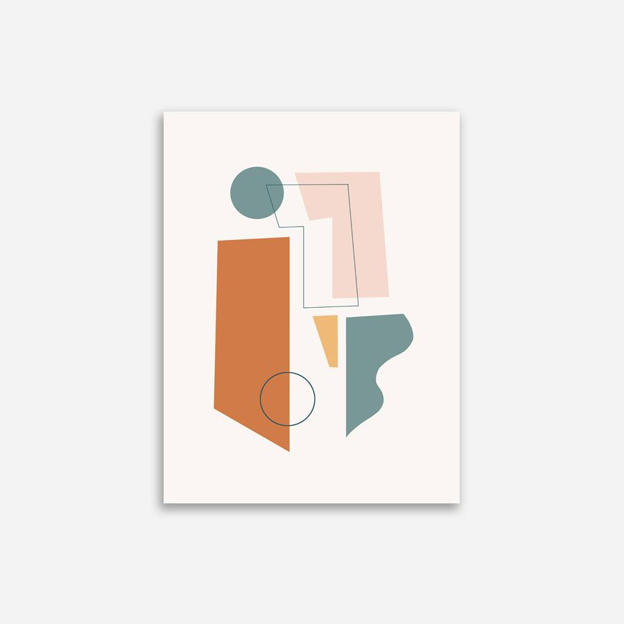 Concerto Terracotta Poster (30 x 40cm)