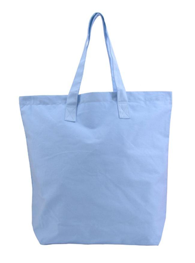 Shopper Baumwolle Light Blue