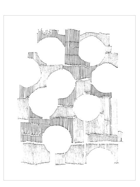 Kreise Print (40x50cm)