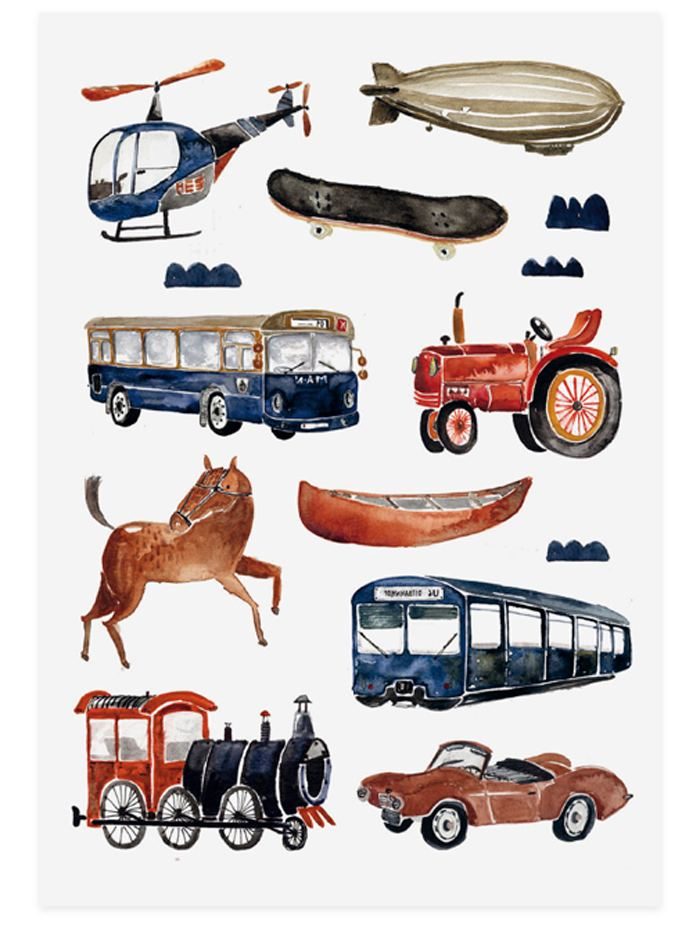 "Organic Tattoos ""Transport"""