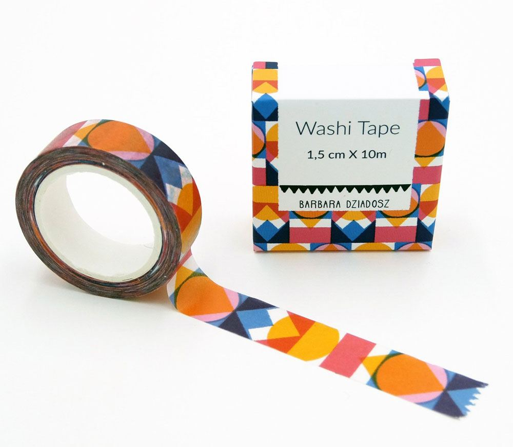 Color Pattern Washi Tape