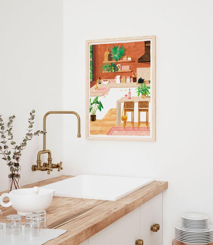 Kitchen Print (29,7 x 39,7cm)