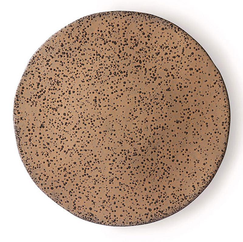 Gradient Keramikteller Taupe