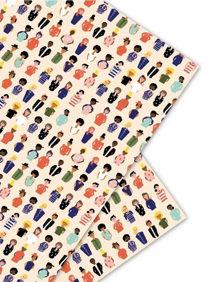 Carolyn Suzuki Friends Geschenkpapier