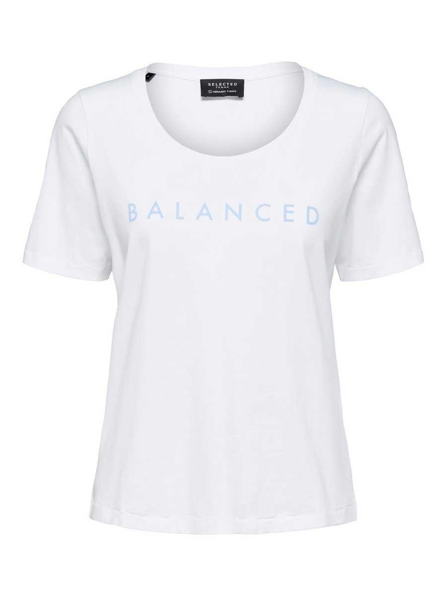 SLFBALANCED T-Shirt White