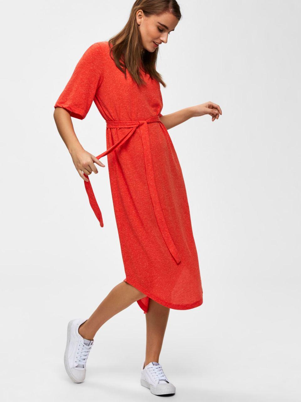 SLFIvy Kleid Cherry Tomato