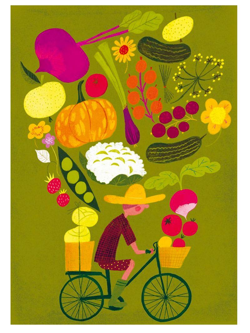 Harvest Poster (30x40cm)