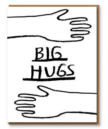 Big Hugs Klappkarte