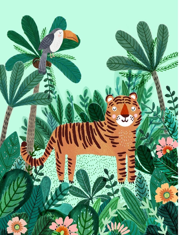 Tiger Poster (50x70xm)