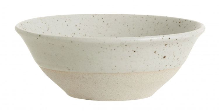 GRAINY Schale Keramik Sand