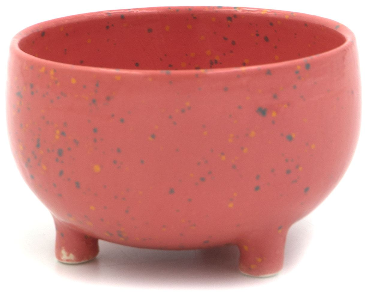 Bowl on 3 legs Pink