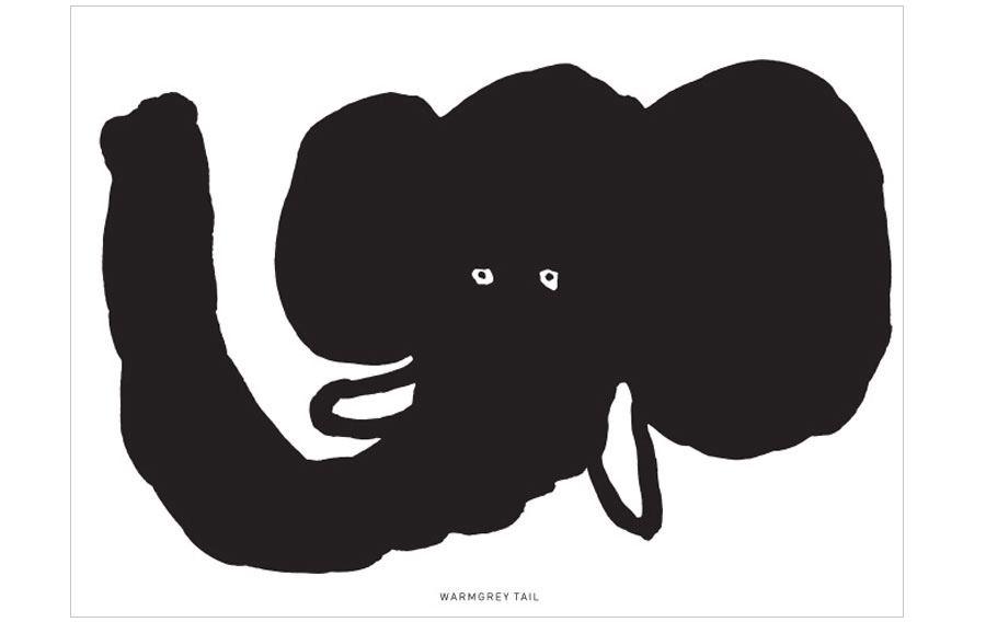 Elephant Karte