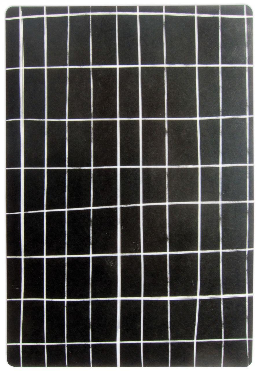 Schneidebrett Black Grid
