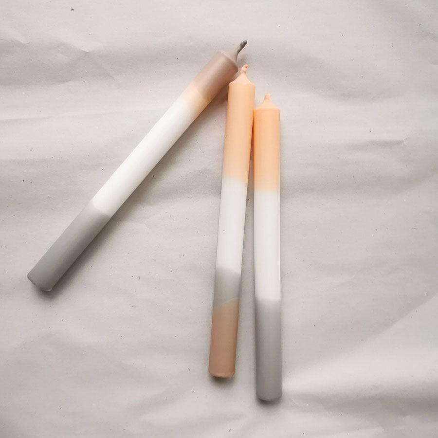 Kerze Pastell