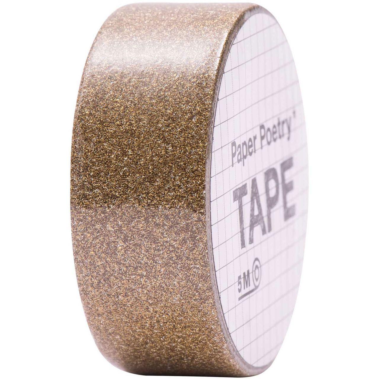 Tape Glitter Kupfer