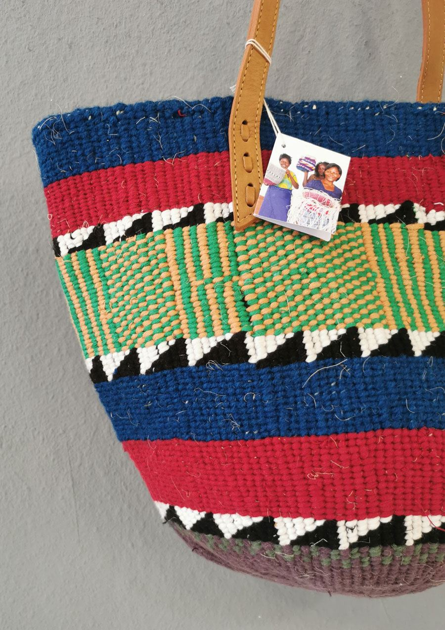The Nifty Knit Basket Bag #10