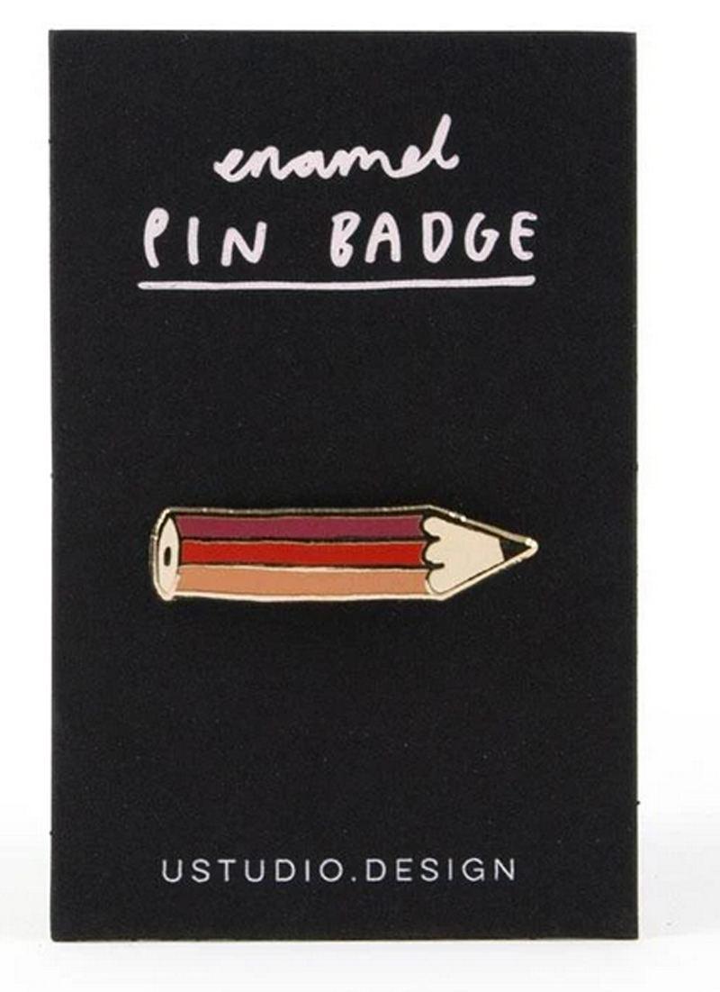 Pencil Enamel Pin