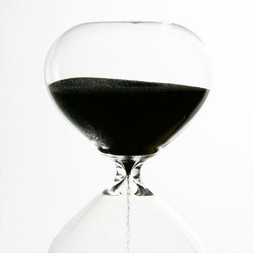 Sanduhr L / 15min Clear
