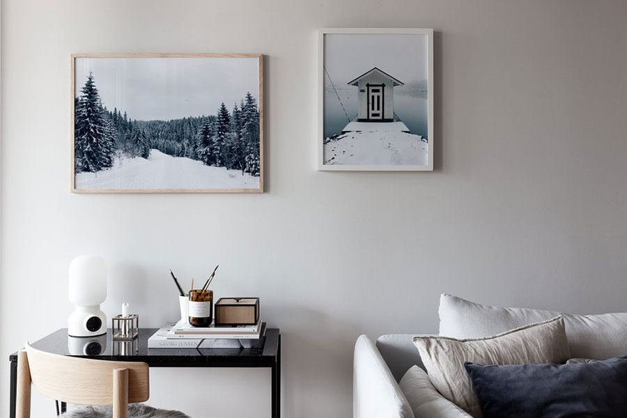 Snowy House Poster