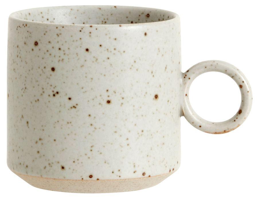 GRAINY Tasse mit Henkel Keramik Sand
