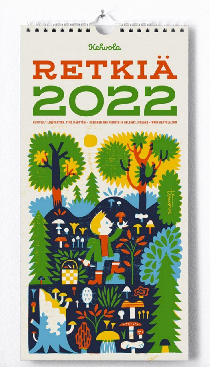 Kehvola Retkiä Kalender 2022