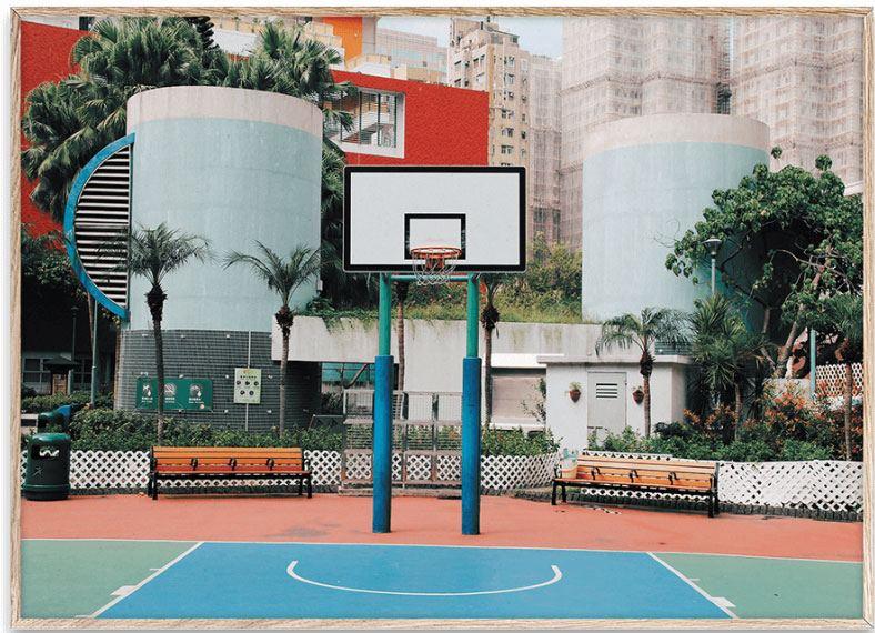 Cities of Basketball (04) Hong Kong Print (30x40xm)