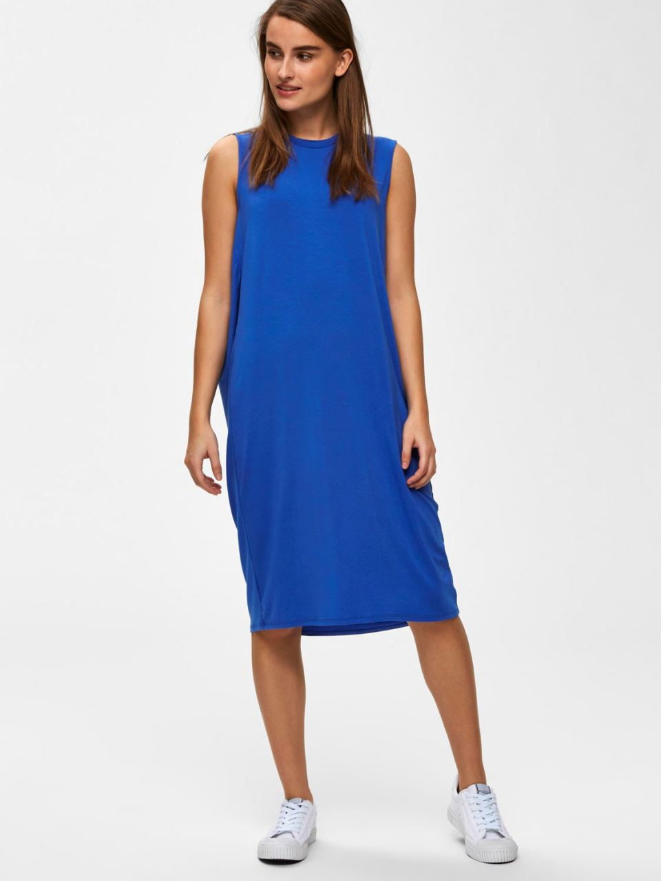 SLFAsha Kleid Dazzling Blue