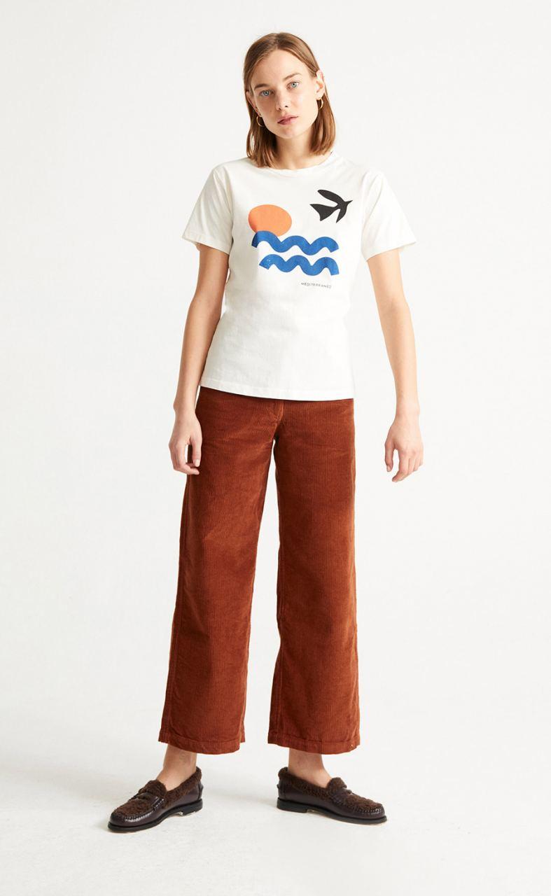 White Med T-Shirt