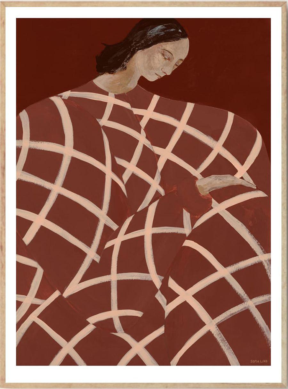 Waiting At Art Et Metiers Poster (50x70cm)