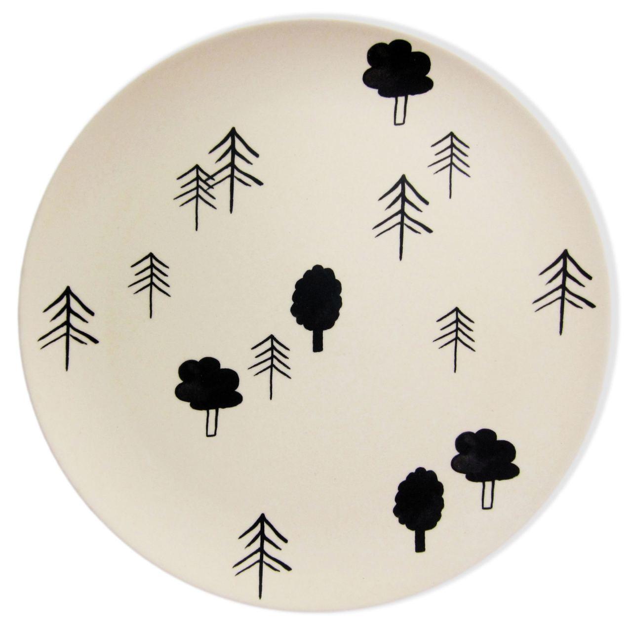 Trees Bambusteller
