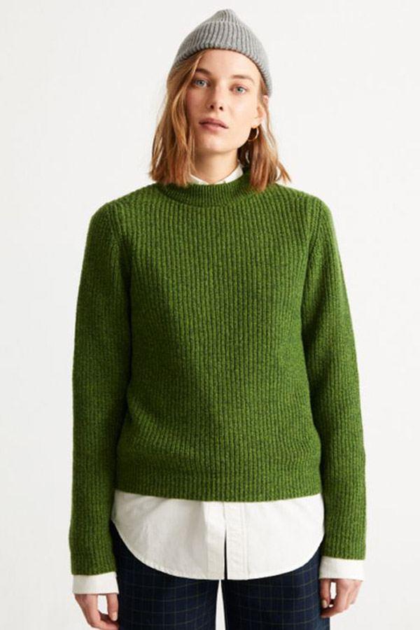 Hera Strickpullover Green