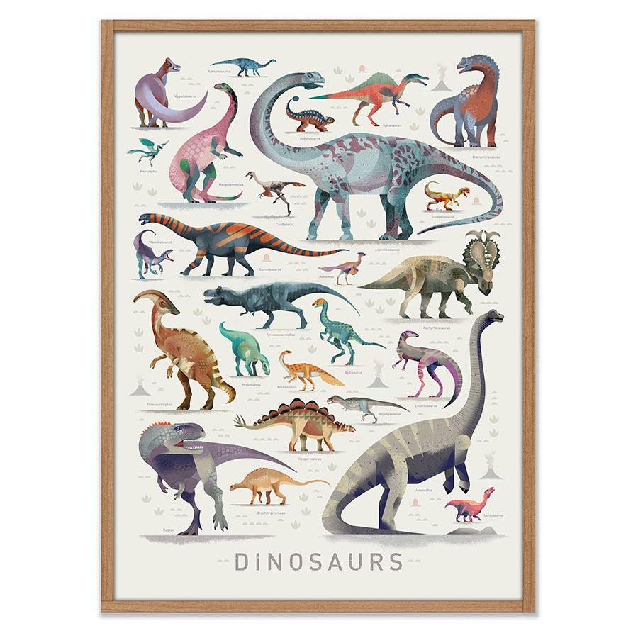 Dinosaurs Poster (50 x 70cm)