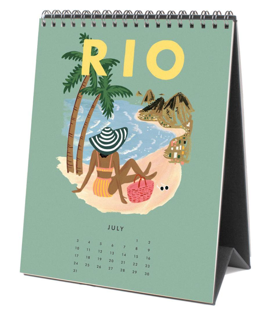 2022 Explore The World Tischkalender