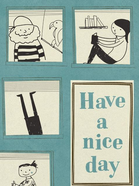 Have A Nice Day Poster (50 x 70 cm)