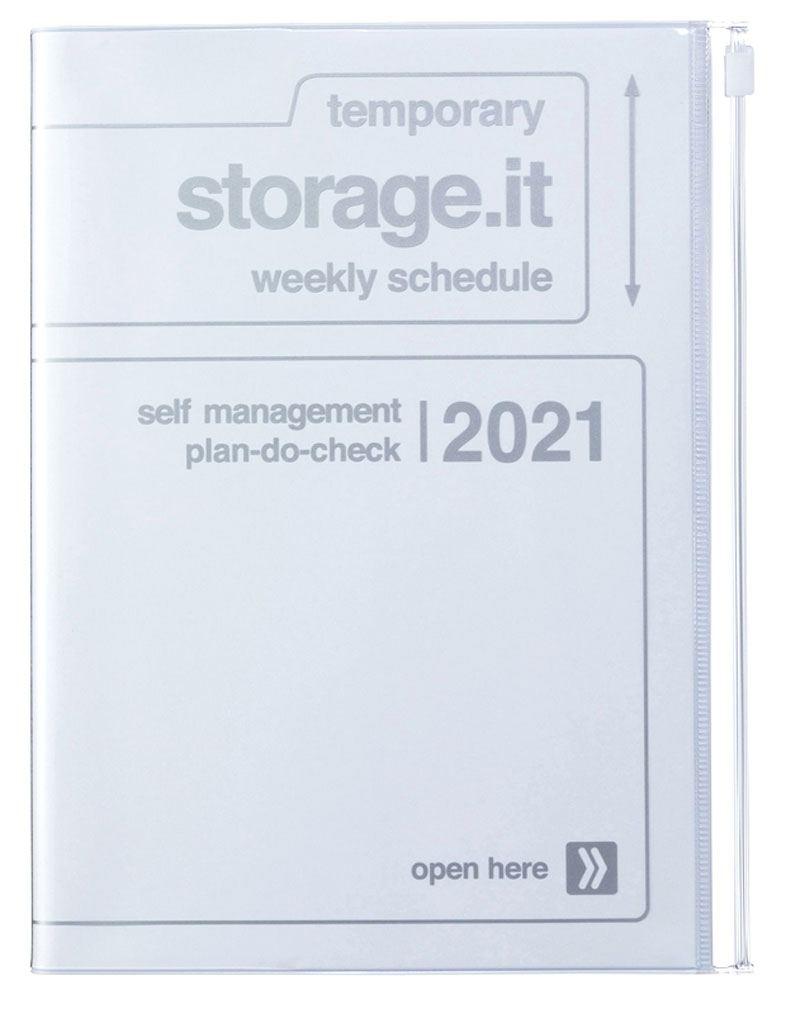 2021 Kalender A5 Storage.it White