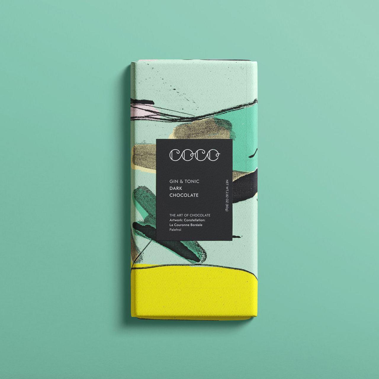 Gin & Tonic Schokolade