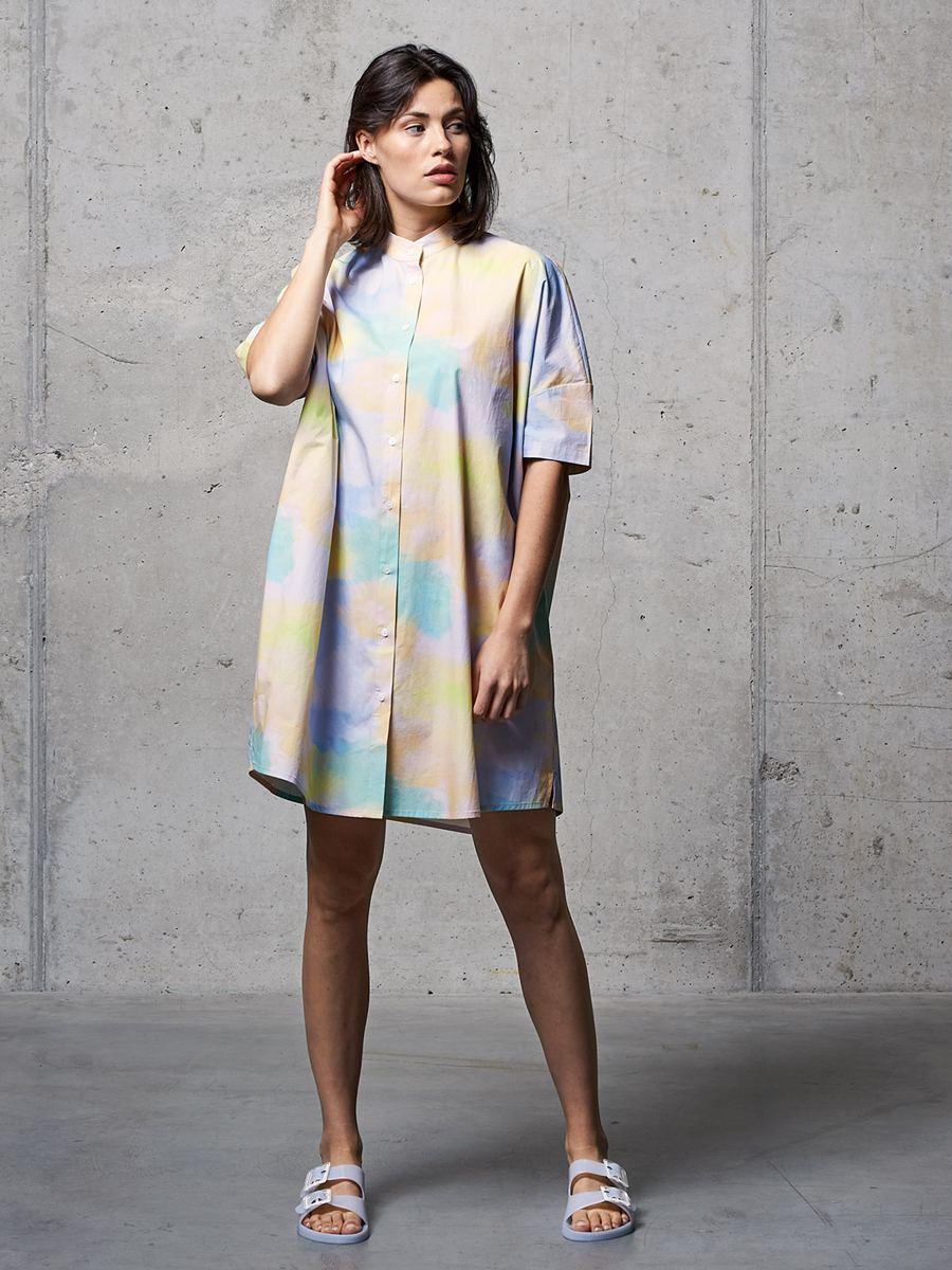 Maggie Oversized Bluse Multicolor