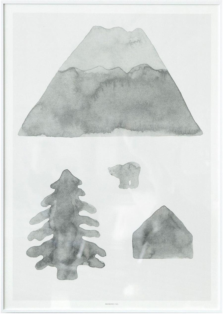 North Poster (50x70cm)