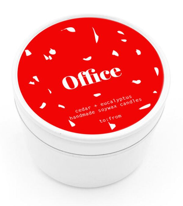 Cedar + Eucalyptus Office Kerze