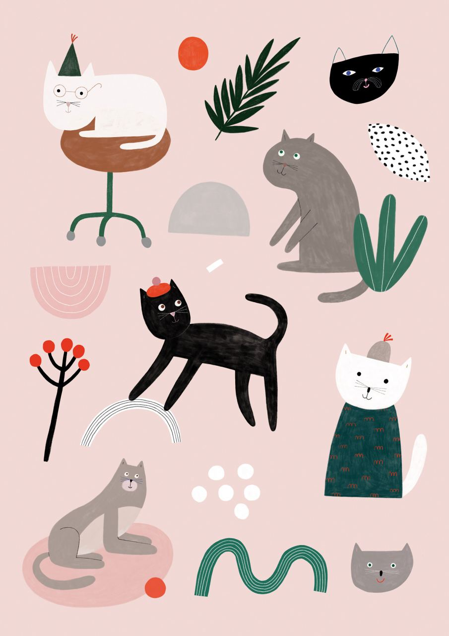 Cats Print (Din A3)