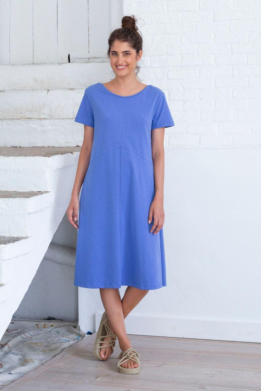Dila Kleid Amparo Blue