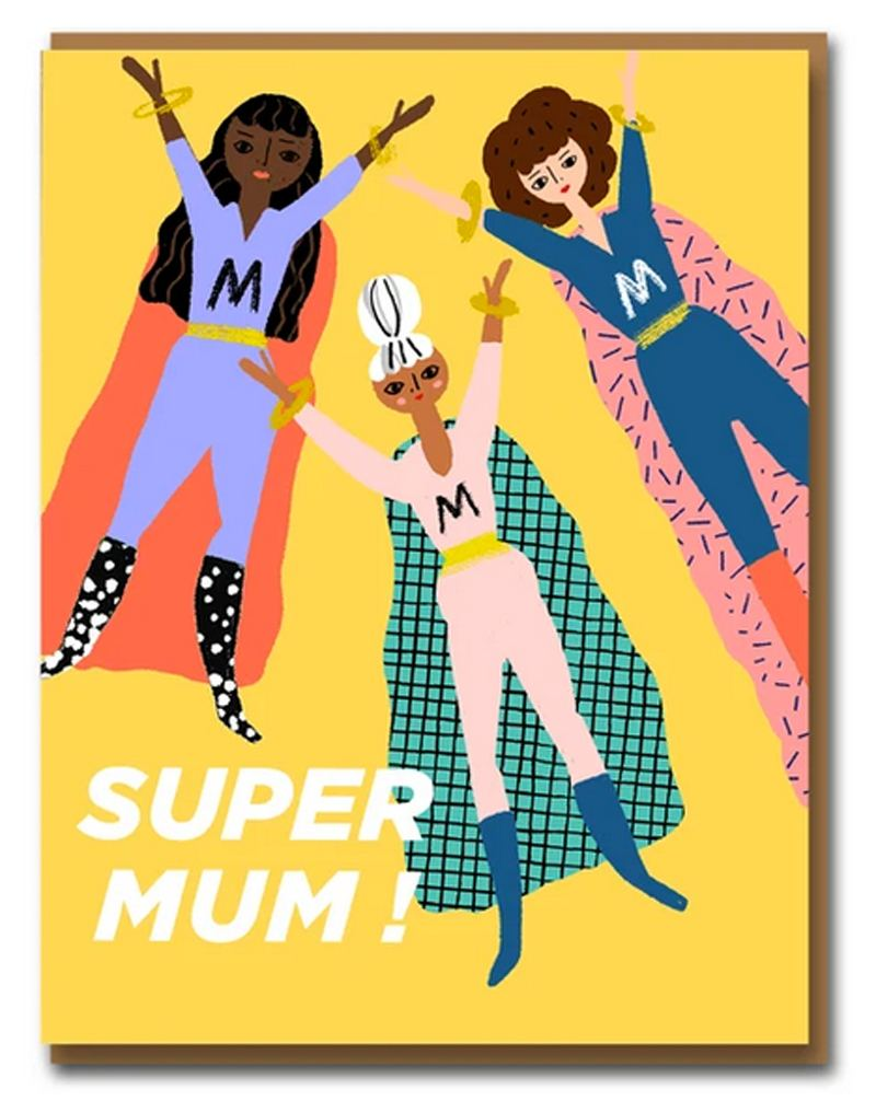 Carolyn Suzuki Super Mum Klappkarte